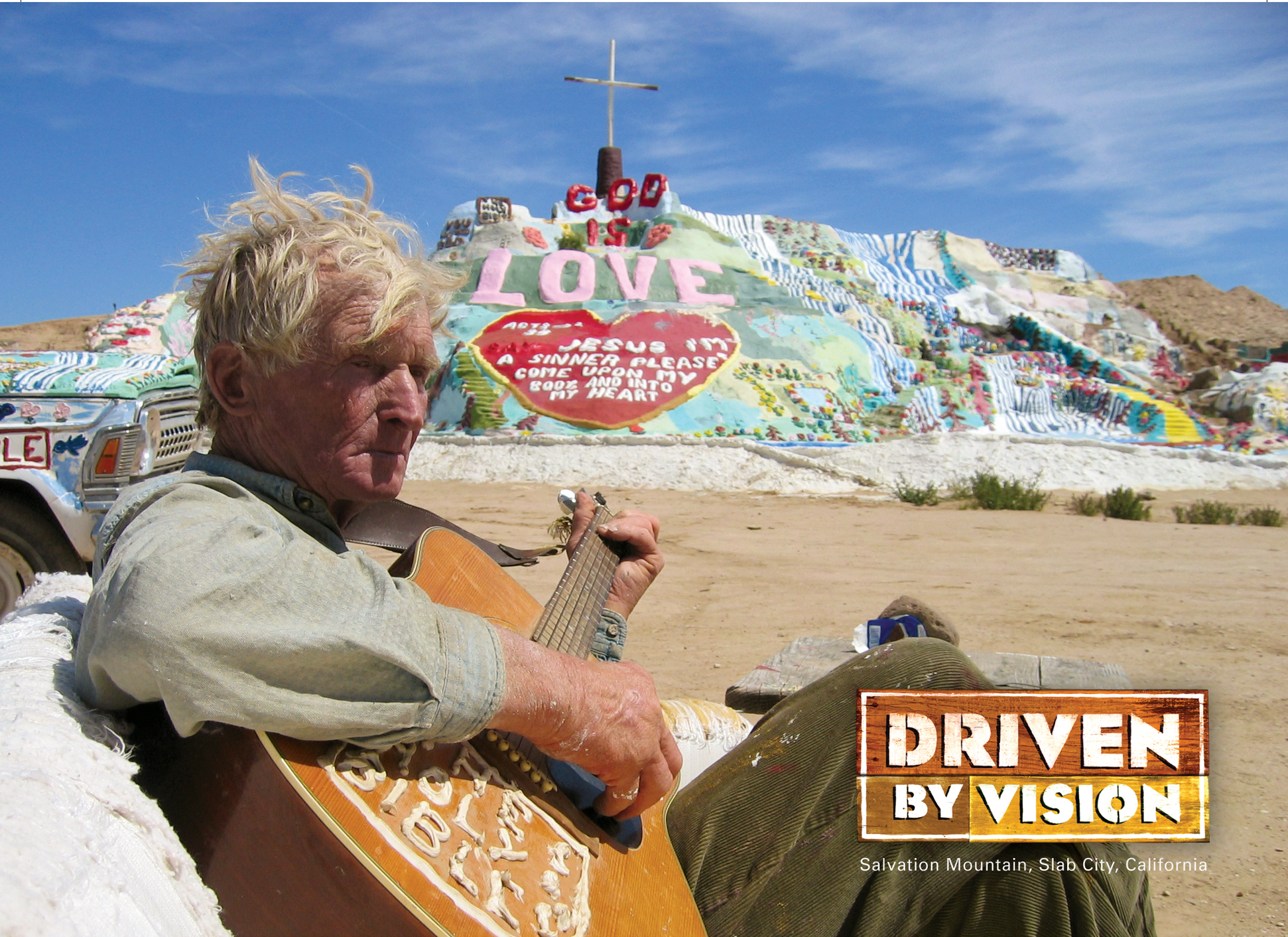 Driven by Vision   16 X 30 Minute Series in HD Directed by: Michael McNamara  Explore of the remarkable shrines and structures that have sprung from the imaginations of visionaries throughout North America...    READ MORE     Special edition DVD set includes Volume I & II buy it    here.     Visit    Dark Hollow Films    for U.S. educational sales.