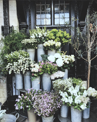 A little floral boutique on the street.