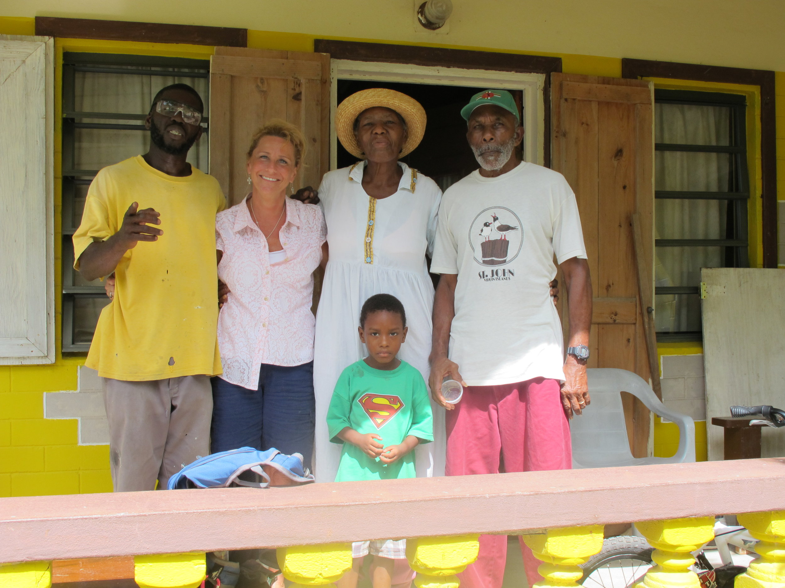 Bonnie & Donaldson with his family.jpg