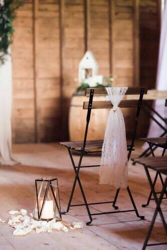 French Slotted Chairs5.00 each200 QtyPhotography: Hind Hart Studios -