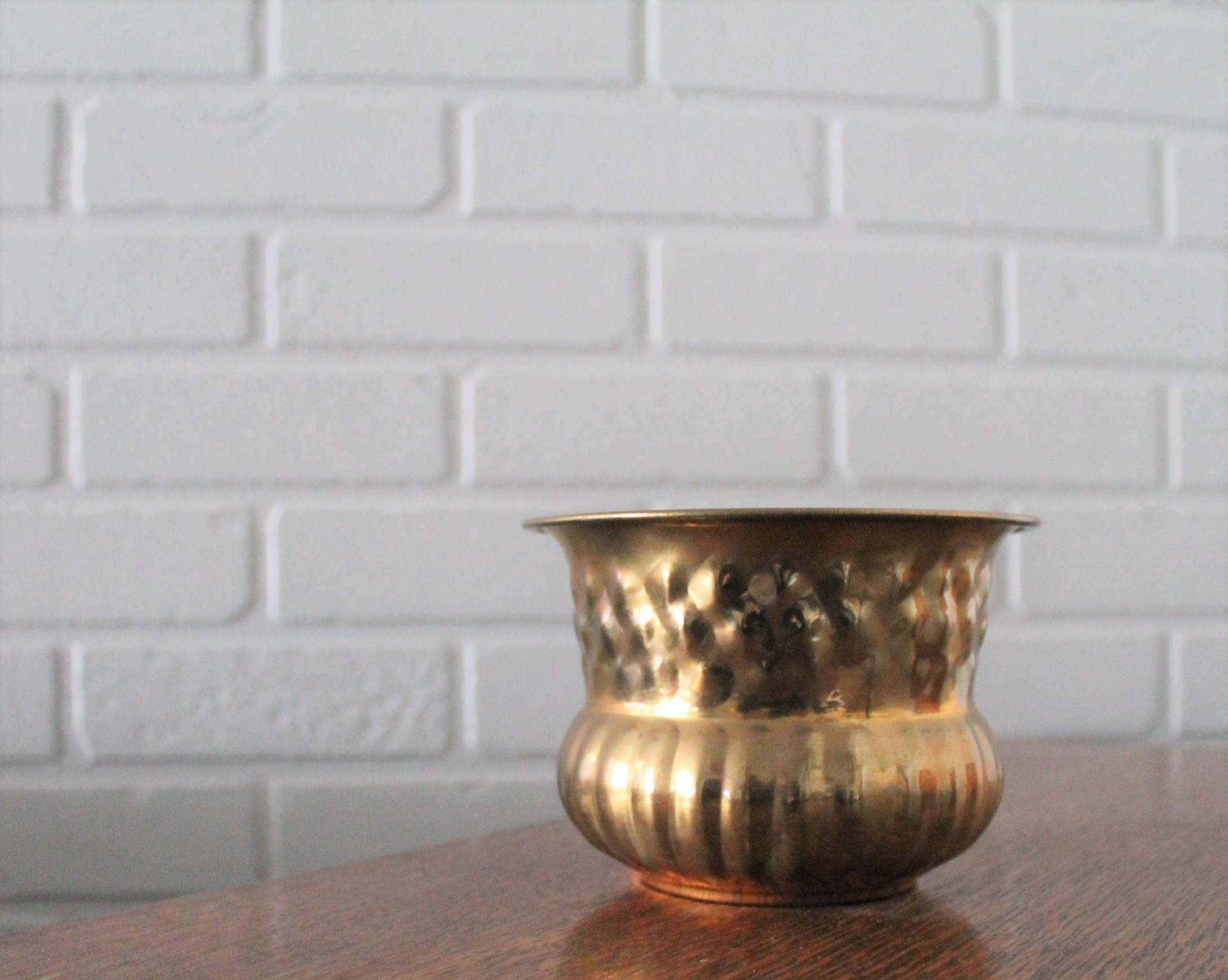 Brass Dimple Vase2.00 -