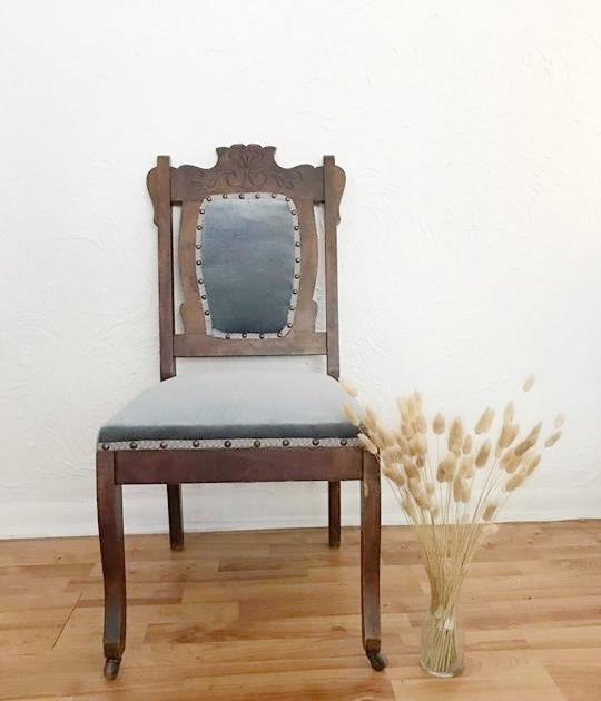 Blue Antique Chair25.00 -