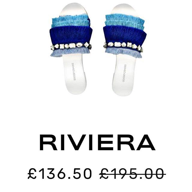 #riviera sandal ! 💎 30% discount FLASH SALE - Goodey2shoes.com