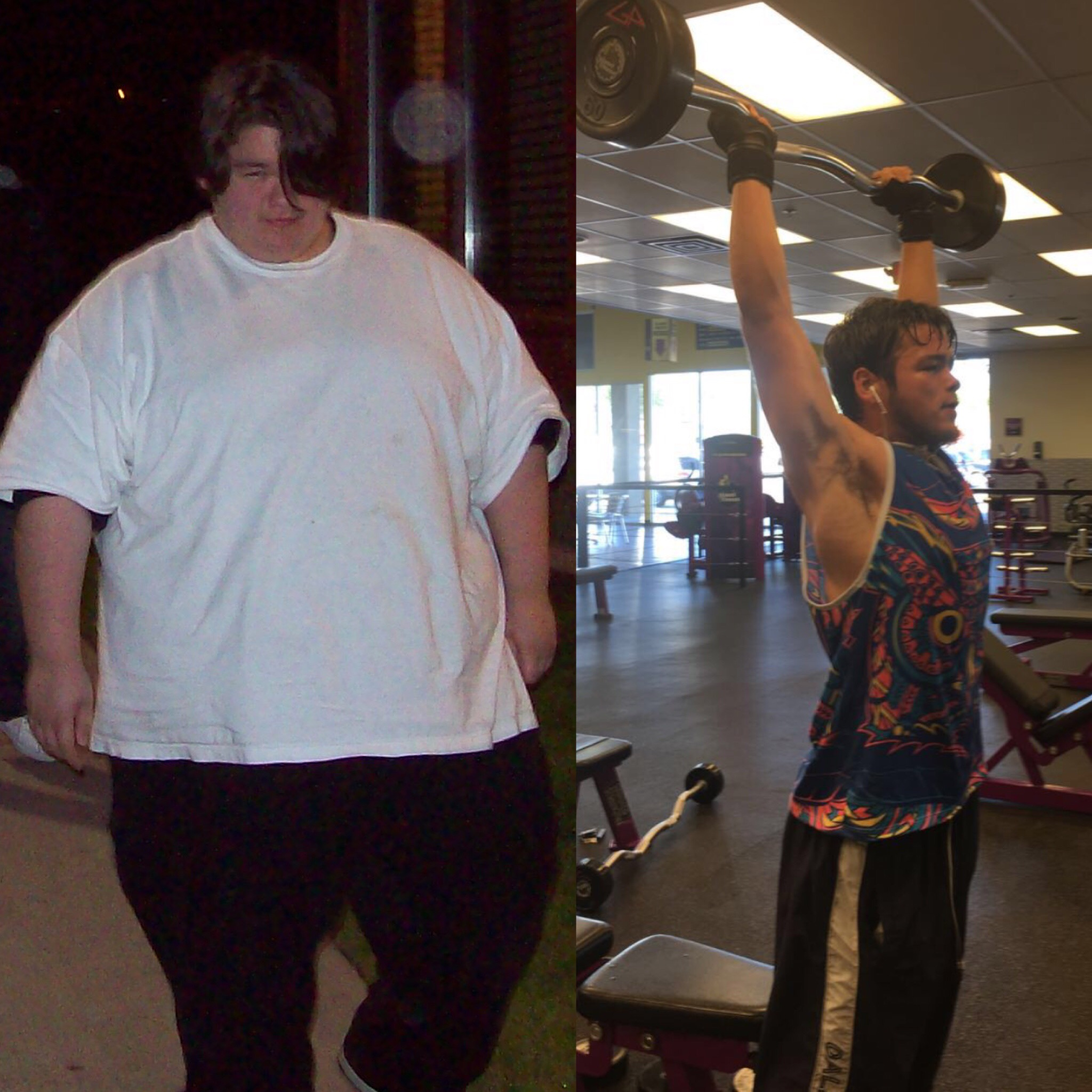 Lucas Gutierrez has transformed his life, having lost 300 pounds since 2008.