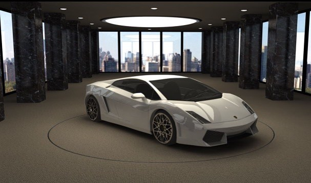 3D rendering by Atlantica college's students