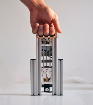 Lumifold: the first portable and foldable 3D printer ever!