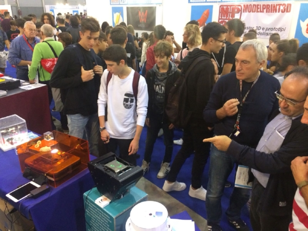 The New Lumifold TB at Maker Faire Rome 2018