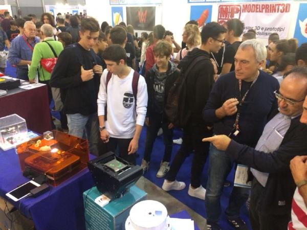 The New Lumifold TB presso Maker Faire Rome 2018