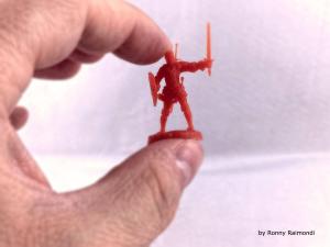 3Dprinting on Lumiforge and Lumireact HD resin.