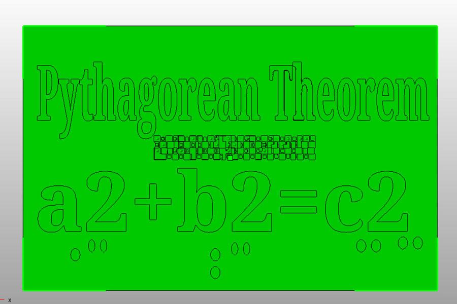 Insegnare il teorema di Pitagora, creato dagli studenti di Mount St. Mary