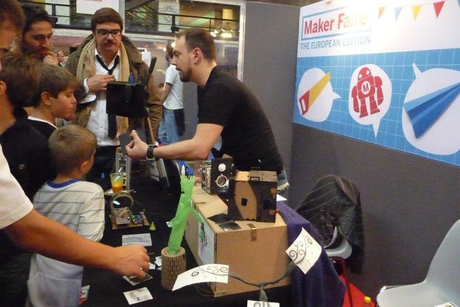La nostra prima European Maker Faire, Roma 2013