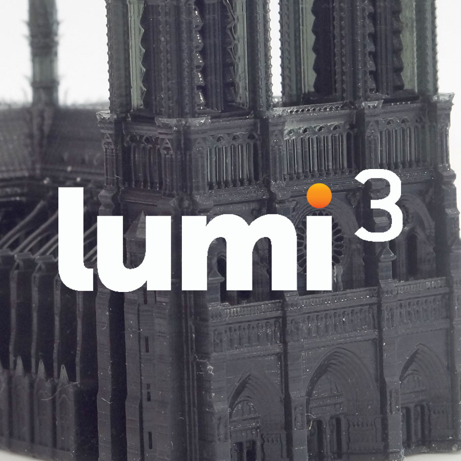 Lumi³ (LumiCUBE) The new Professional resin based 3D printer for dental purposes, jewellery, miniatures, product design and engineering…coming soon! Stereolithography at its best!