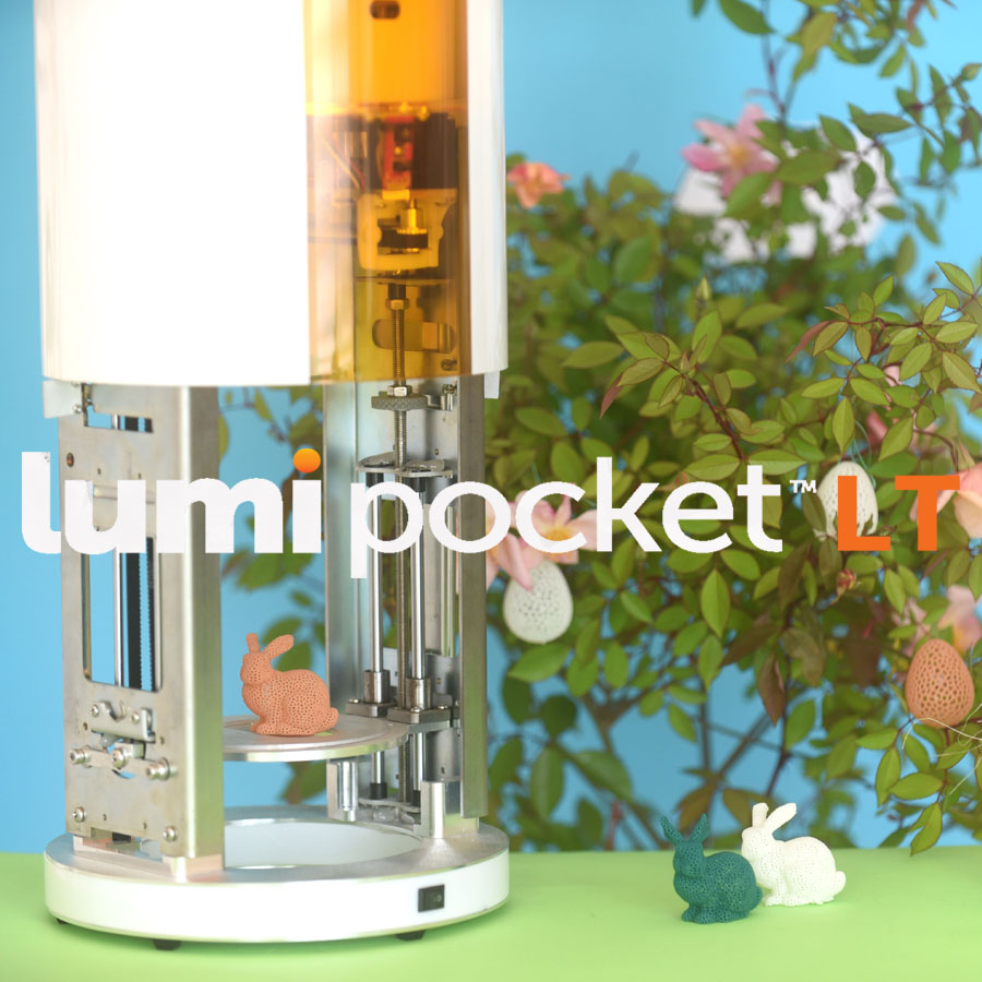 LumiPocket LT low cost Multipurpose stereolithography 3D printer, designed by Makers for Makers.  Learn more