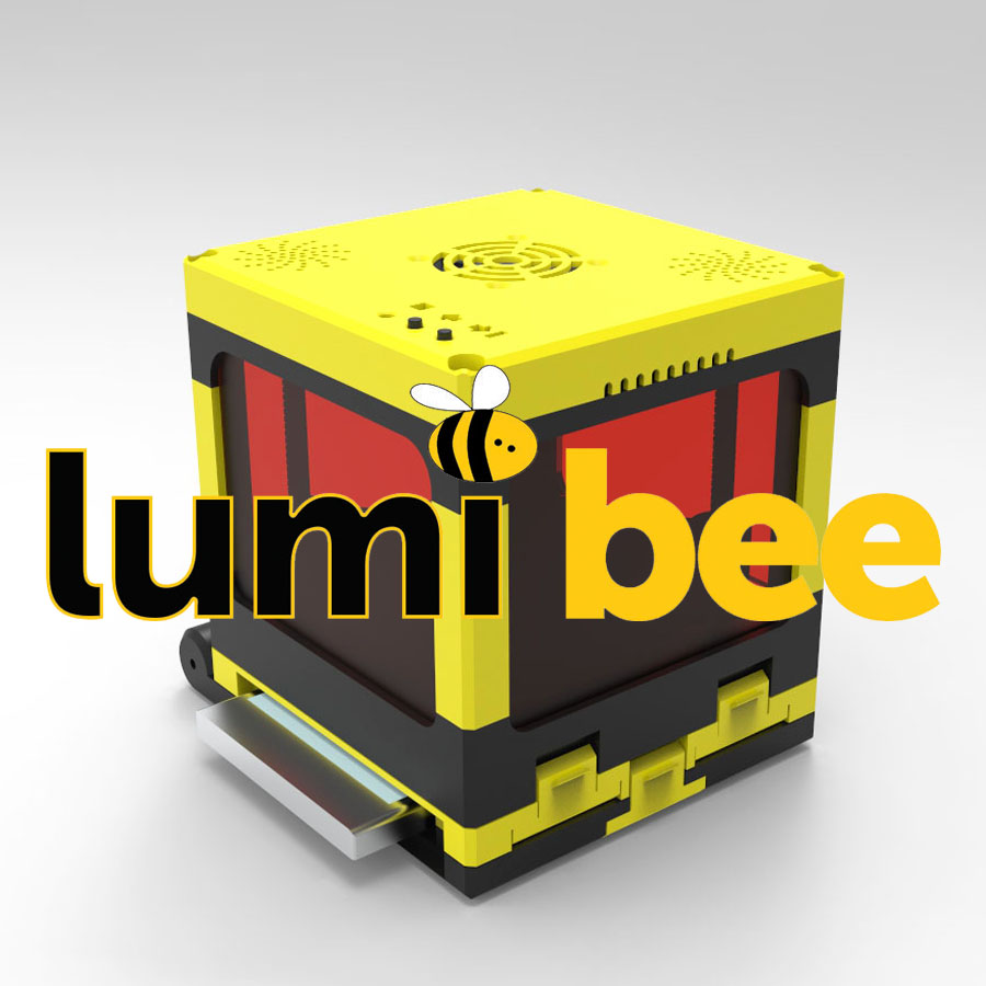 LumiBee, the only super low cost resin 3D printer for mobile phones, because you Do It Yourself!