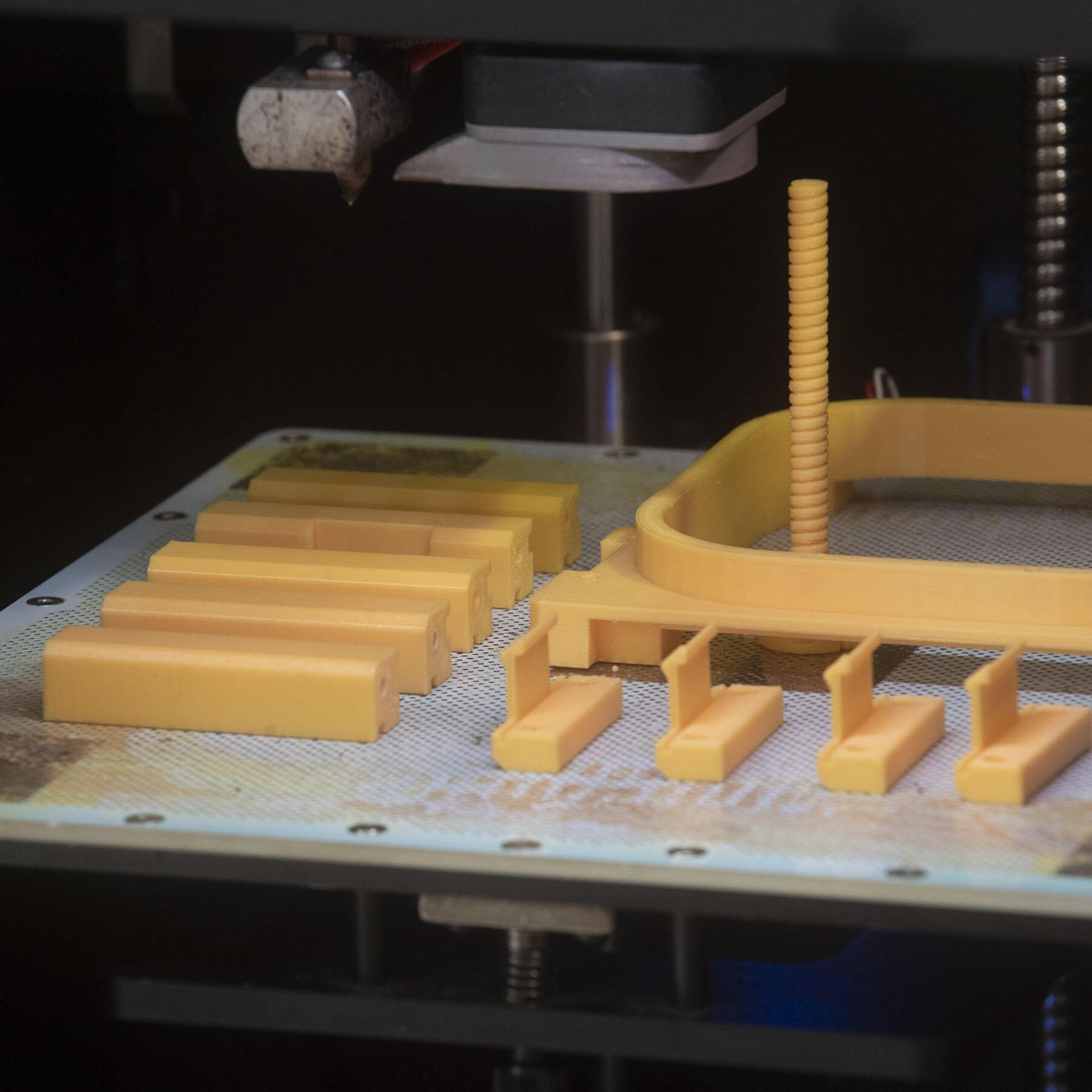 3D printing a 3D printer