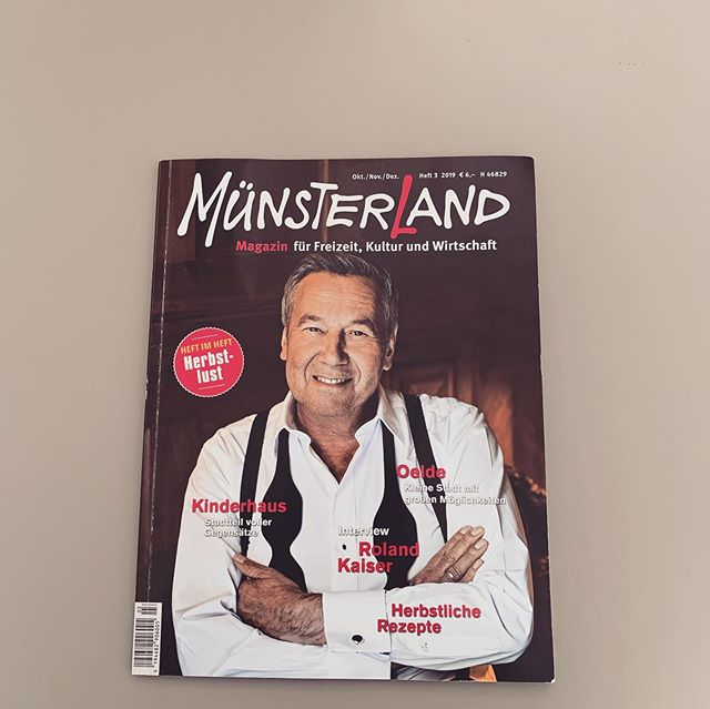 Die nächsten 3 Monate sind wir nun auch im Münsterland Magazin zu finden! Vielen Dank an dieser Stelle nochmal an alle Beteiligten, die unsere Vision bei der Renovierung umgesetzt haben!! @donnerblitz_design @jb_werbetechnik