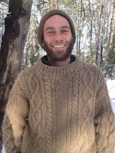 Colin Richardson   Colin is originally from Cape Cod in Massachusetts. Growing up in the bogs and estuaries around his home, Colin learned an appreciation for all the creatures of the earth early on. After taking on many varied vocations throughout the years, he was enthralled by the modern earth-living movement. After graduating the Apprenticeship Program at MPSS in 2016, he continues to work on his skills and became an instructor in the Fall of 2016. Colin focuses on foraging for food, medicines, and bow making materials. With a love of increasing his suite of awareness tools and nature literacy.