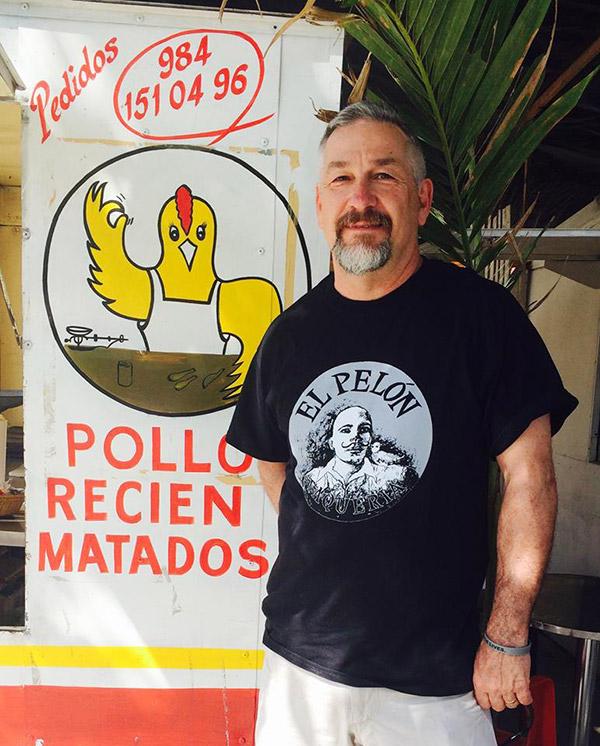 Chef Chris Douglass in Mexico