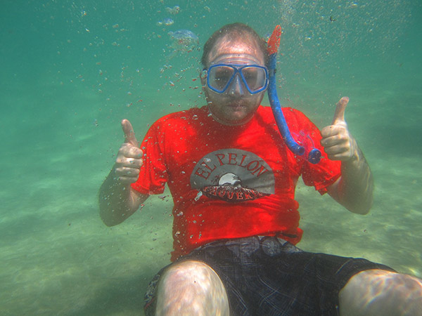 Underwater in Puerto Rico
