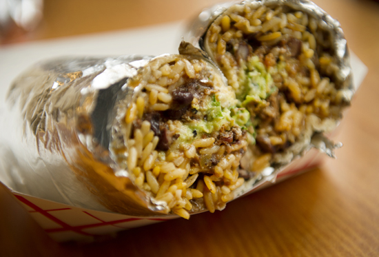El Pelon's popular El Guapo burrito was ranked fourth in the nation by the website FiveThirtyEight.com.
