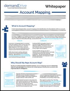 Account Mapping: Maximizing Demand Generation Conversions