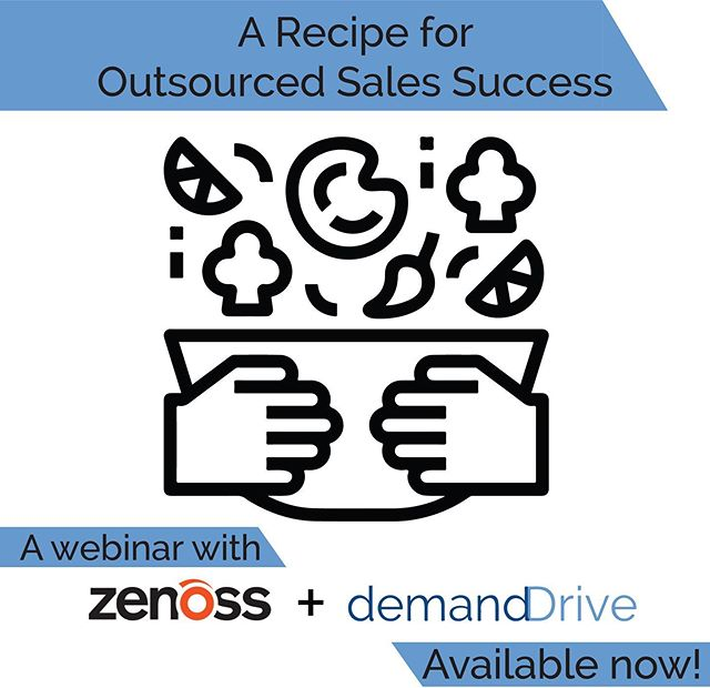 Are you nervous about the idea of outsourcing your SDR process? Do you have some trepidation when it comes to delegating important responsibilities outside your org? Have no fear! In our newest webinar #demandDrive President Lindsay Frey, and the Director of Marketing at #Zenoss, Trisha Fields, dive into the ingredients that make our client relationships successful! Click the link in our bio to check it out!