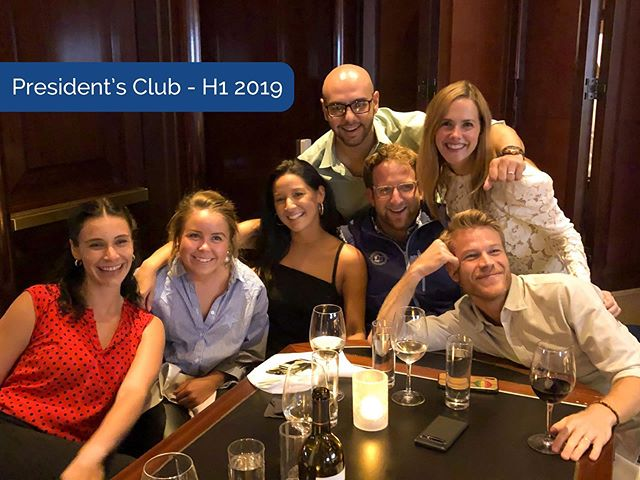 A huge congratulations to our President's Club winners for H1 2019, who celebrated with a night at @encorebostonharbor full of food, drinks, and the opportunity to lose some money!  @r_b_levss, @miikaelaawall, @jessguardado, @mikedotvivo, @eli9160, and @arpie_w all set a standard that the rest of dD should be striving to meet. #presidentsclub #bostonjobs #casino #congratulations
