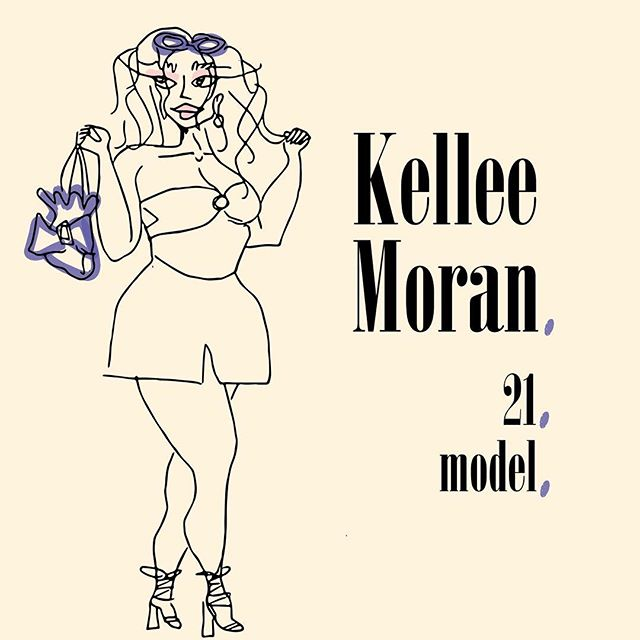 """Kellee is a plus size size model livin and dreamin in Los Angeles. She walks her walk and talks her talk. Kellee is another strong minded gal who figured """"why not"""" before starting her career and has been loving it since."""