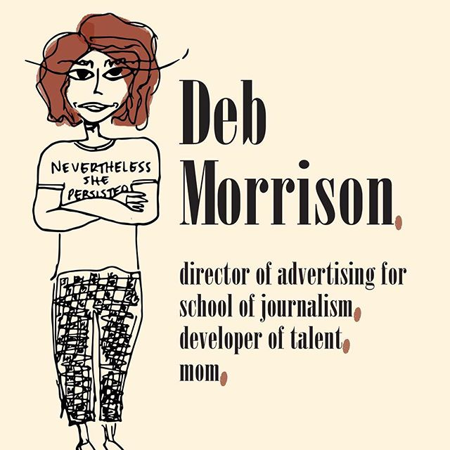 """Deb Morrison. A woman of many talents, a professor at Oregon, a mom, and a giver. If you were to ask her what she does, her answer most likely will be """"It depends."""""""