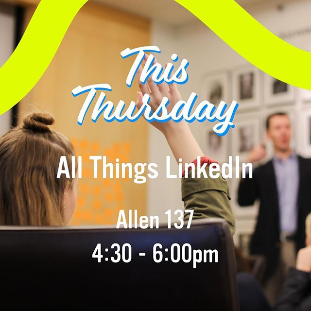 Oooooo here comes another. See you in our workshop tomorrow to get down and dirty with LinkedIn. Let's go.