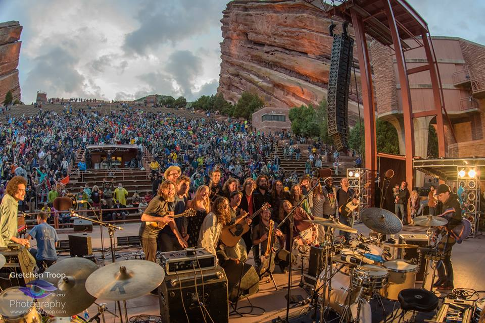 """Eyes of the World"" Arthur Lee Land feat. Jessica Jones at Red Rocks Ampitheater"