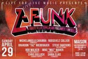"""No Quarter"" Z-Funk New Orleans"