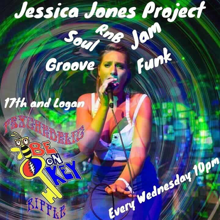 """Eleanor Rigby"" Jessica Jones Project at Be On Key Psychedelic Ripple 2.3.17"