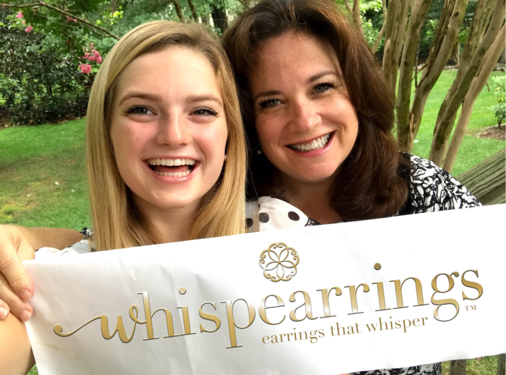 Tessa (daughter) and Shelly (mother) whispearrings co-founders