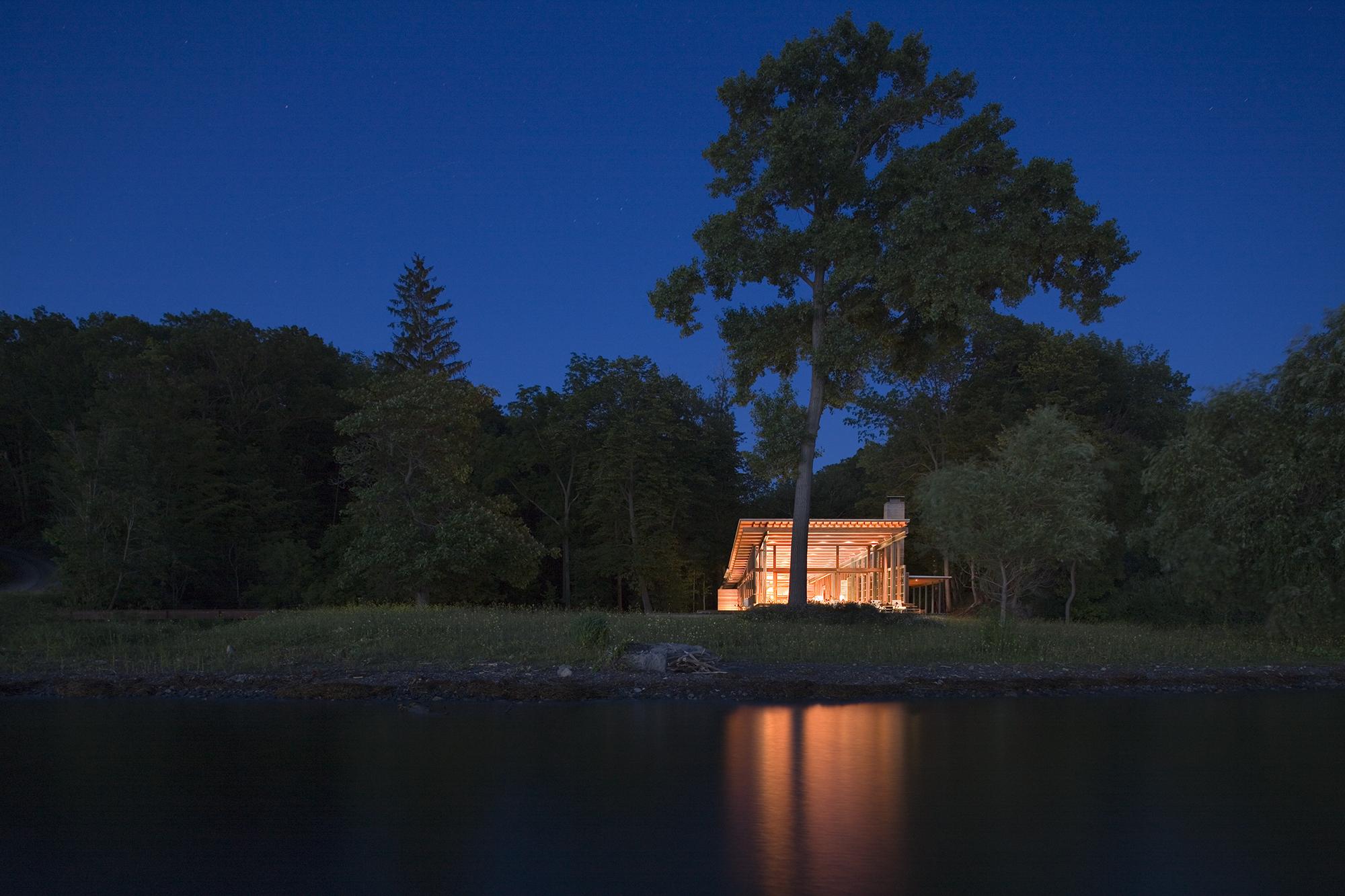 bohlin cywinski jackson I combs point residence | finger lakes usa