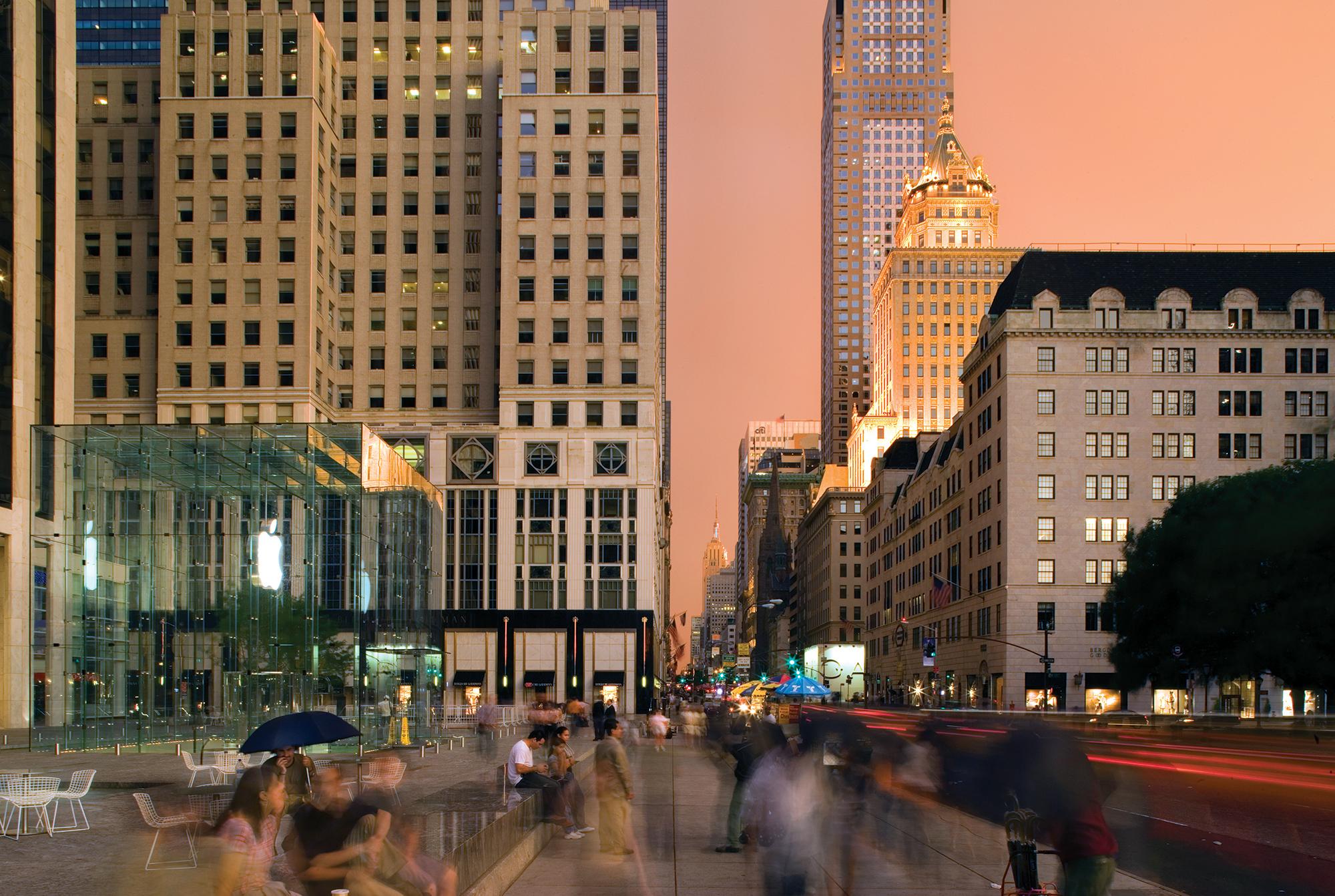 bohlin cywinski jackson | apple 5th avenue | new york usa