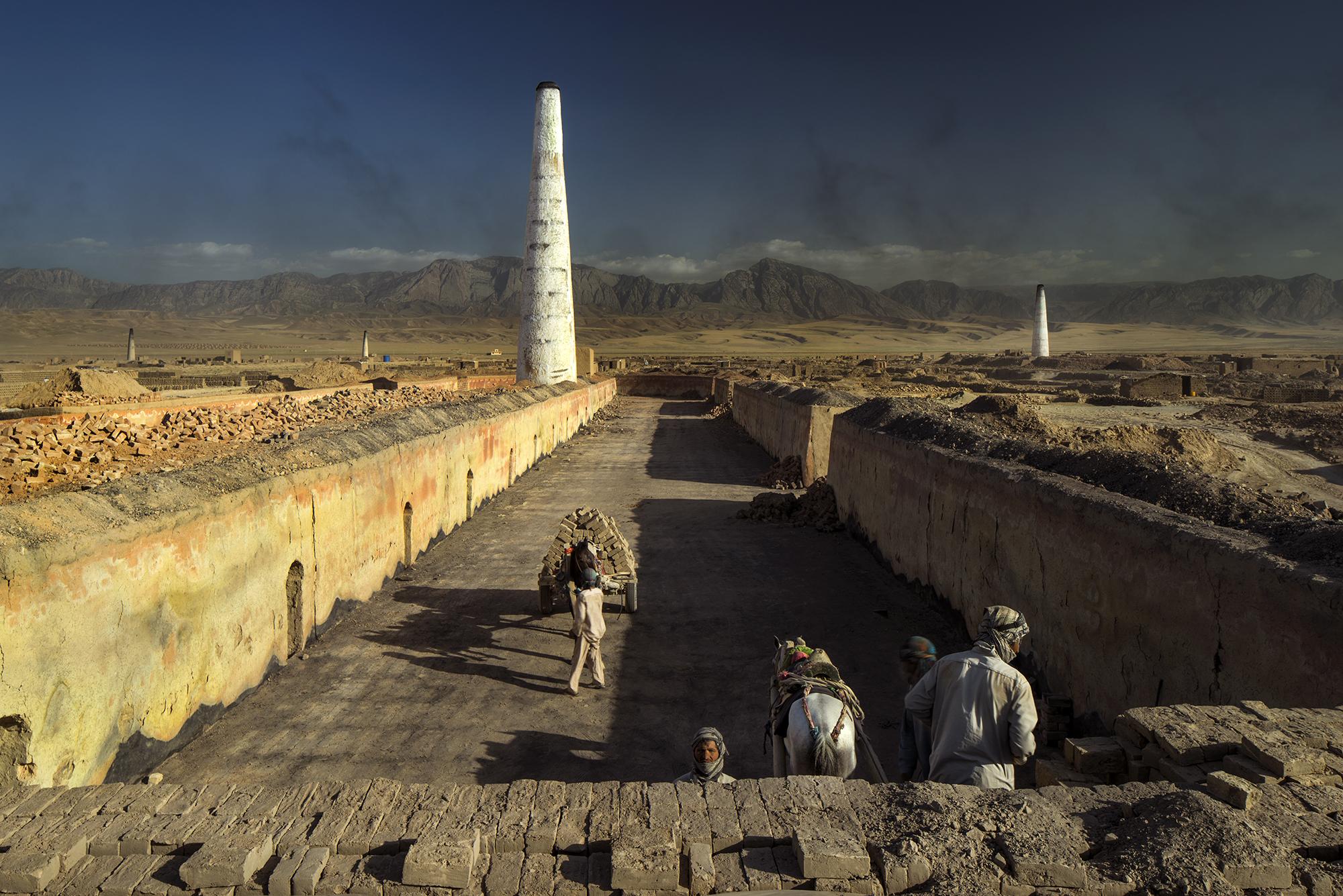 Road to Kunduz, near Mazar-e-Sharif, Afghanistan