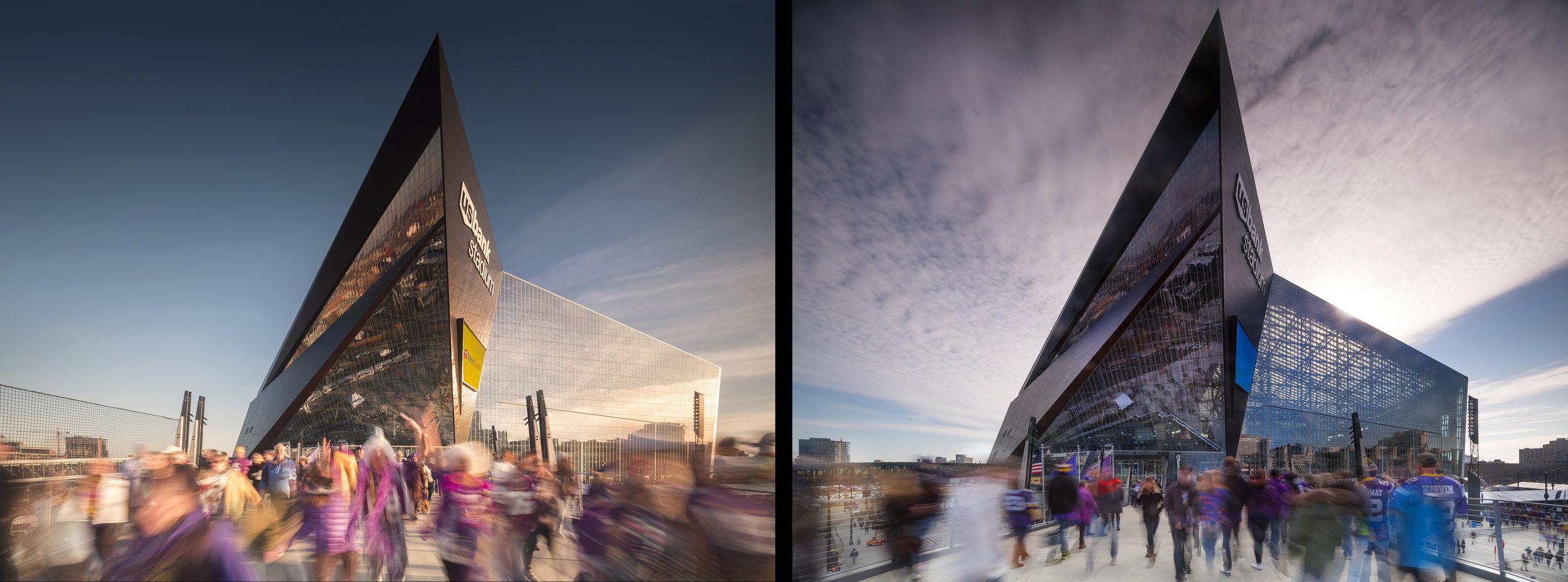 hks architects | viking stadium | minneapolis usa