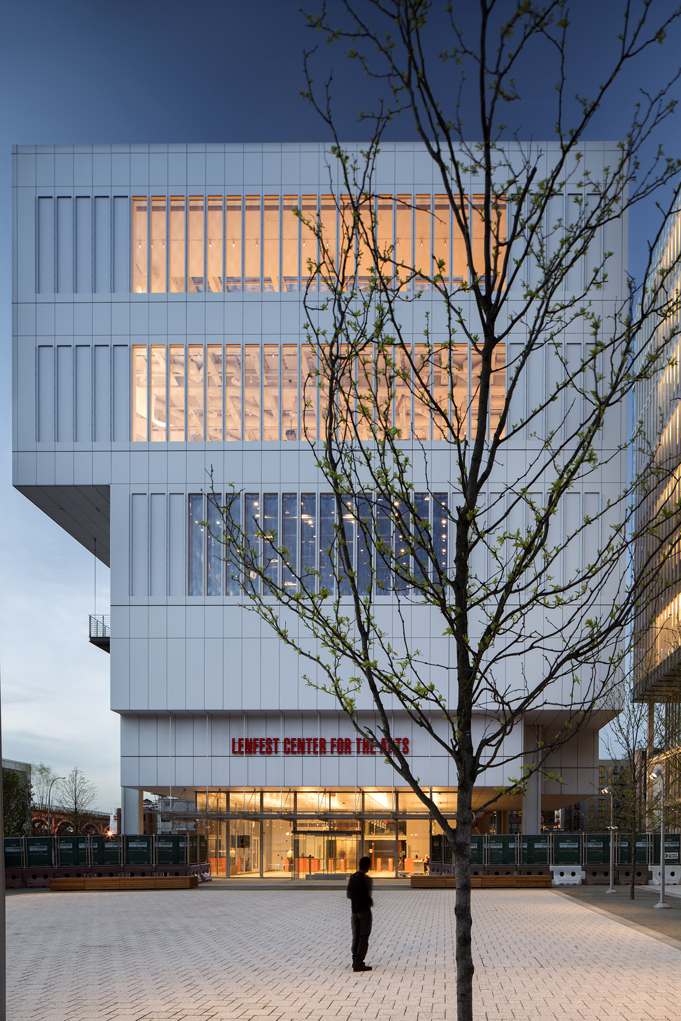 renzo piano building workshop | lenfest center for the arts cu manhattanville | new york usa