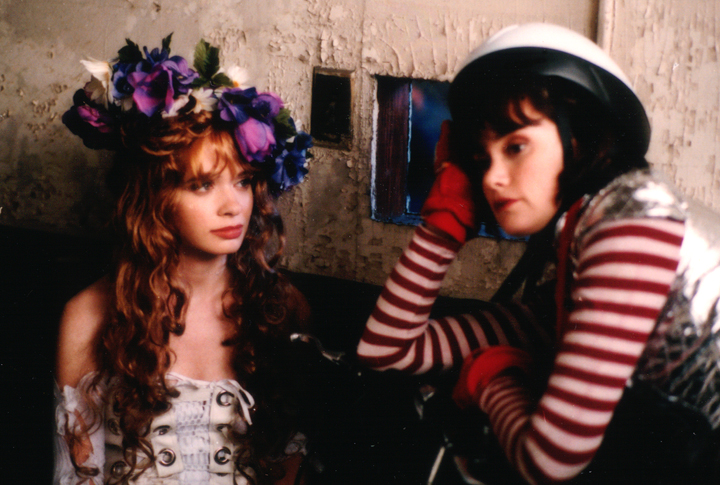 Adrienne Shelly & Patricia Dunnock