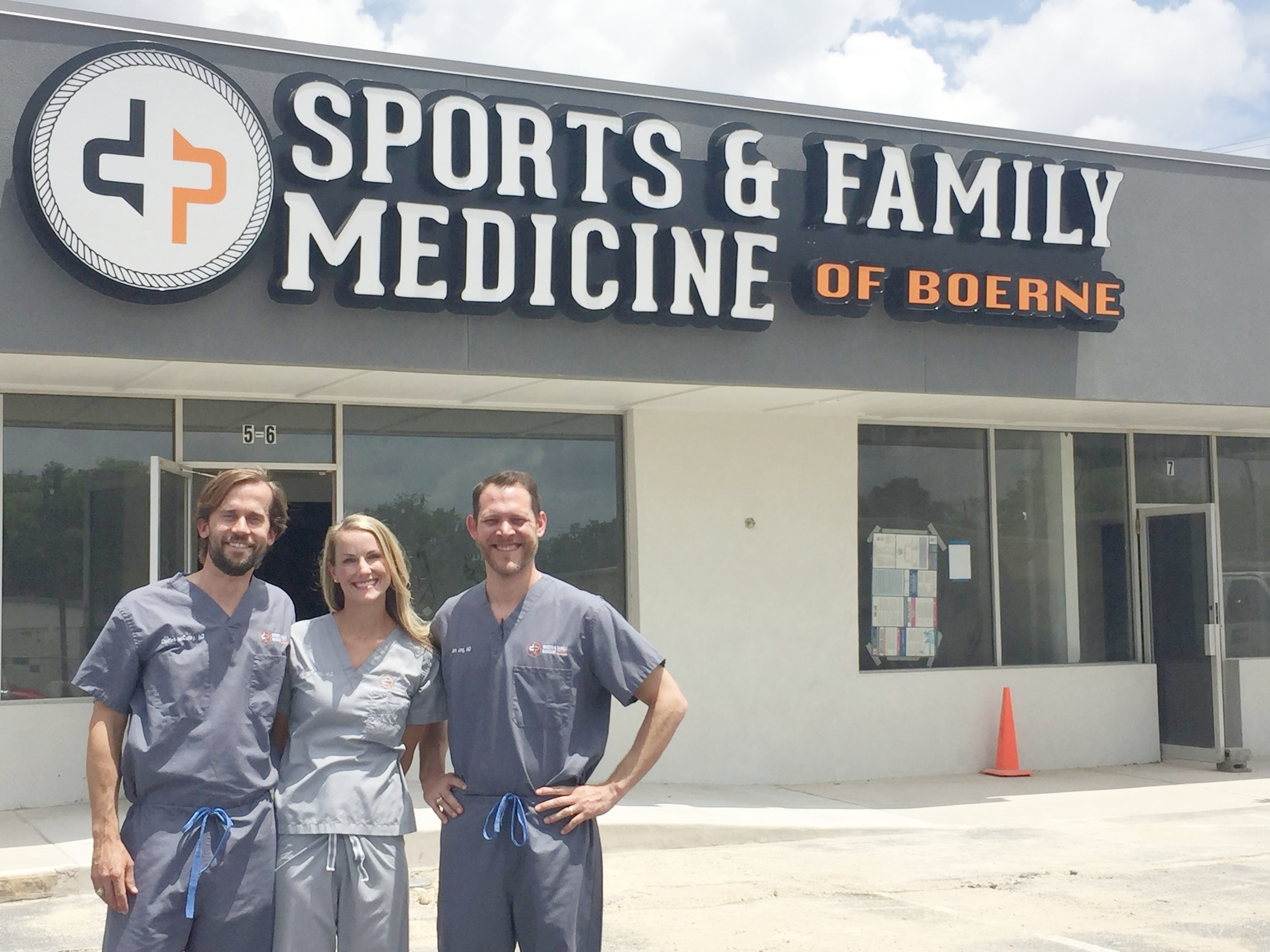 Dr. Charles McCurley, Dr. Wendy McCurley and Dr. Mark Jung are moving their practice to a gentrifying North Main Street in Boerne.