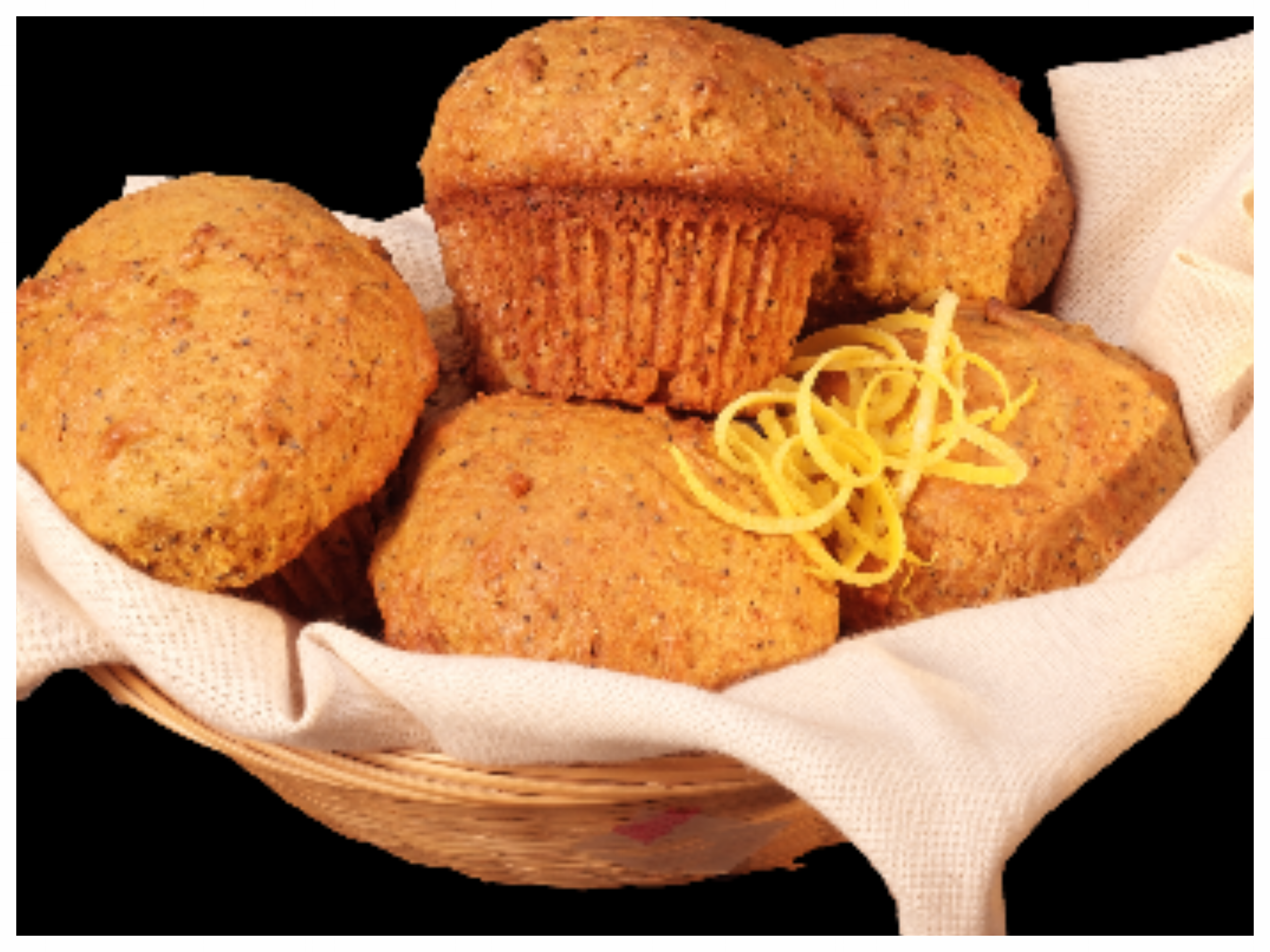 Lemon Poppy Muffins -
