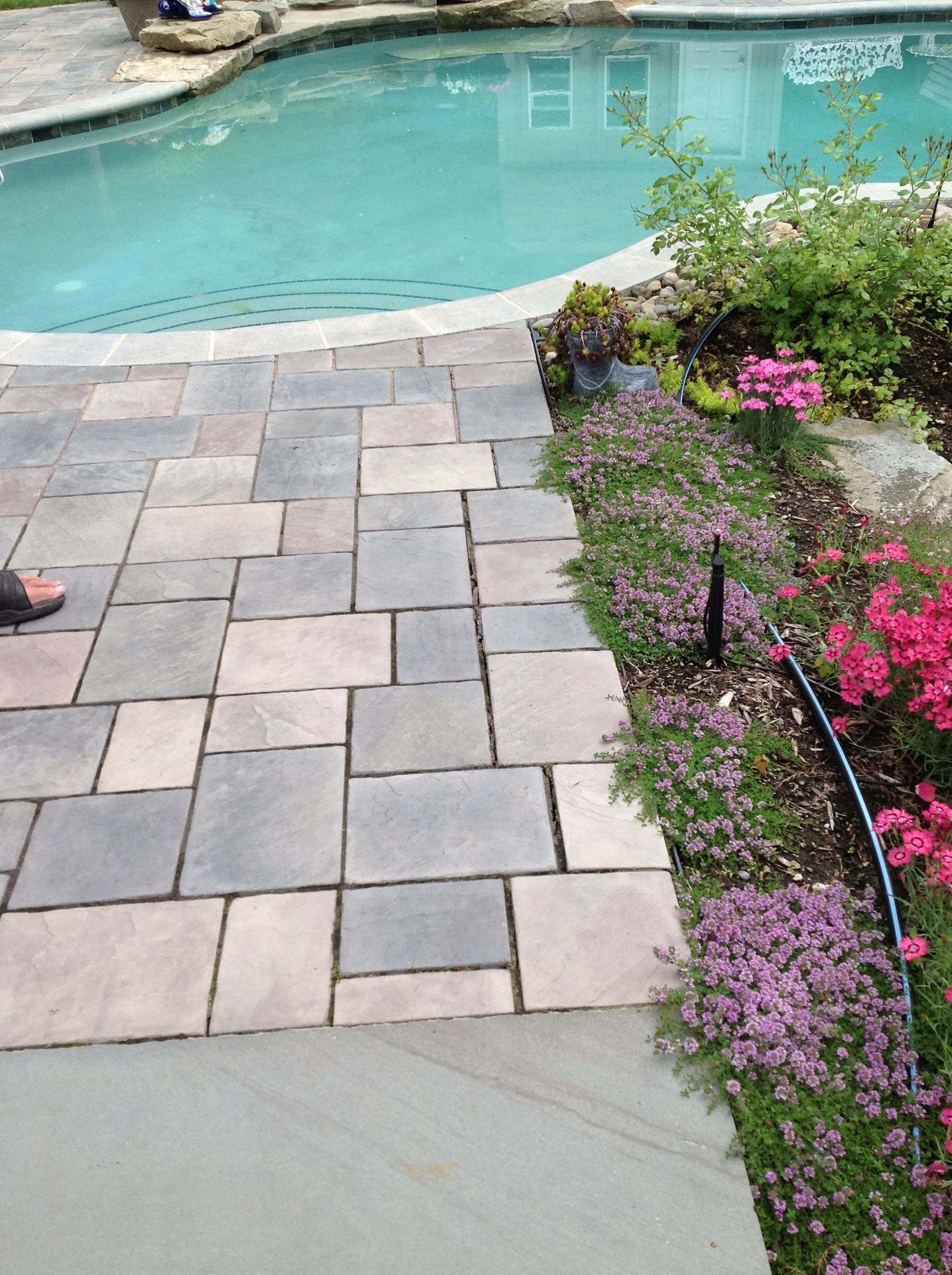 Unilock patio pavers in Hudson, OH