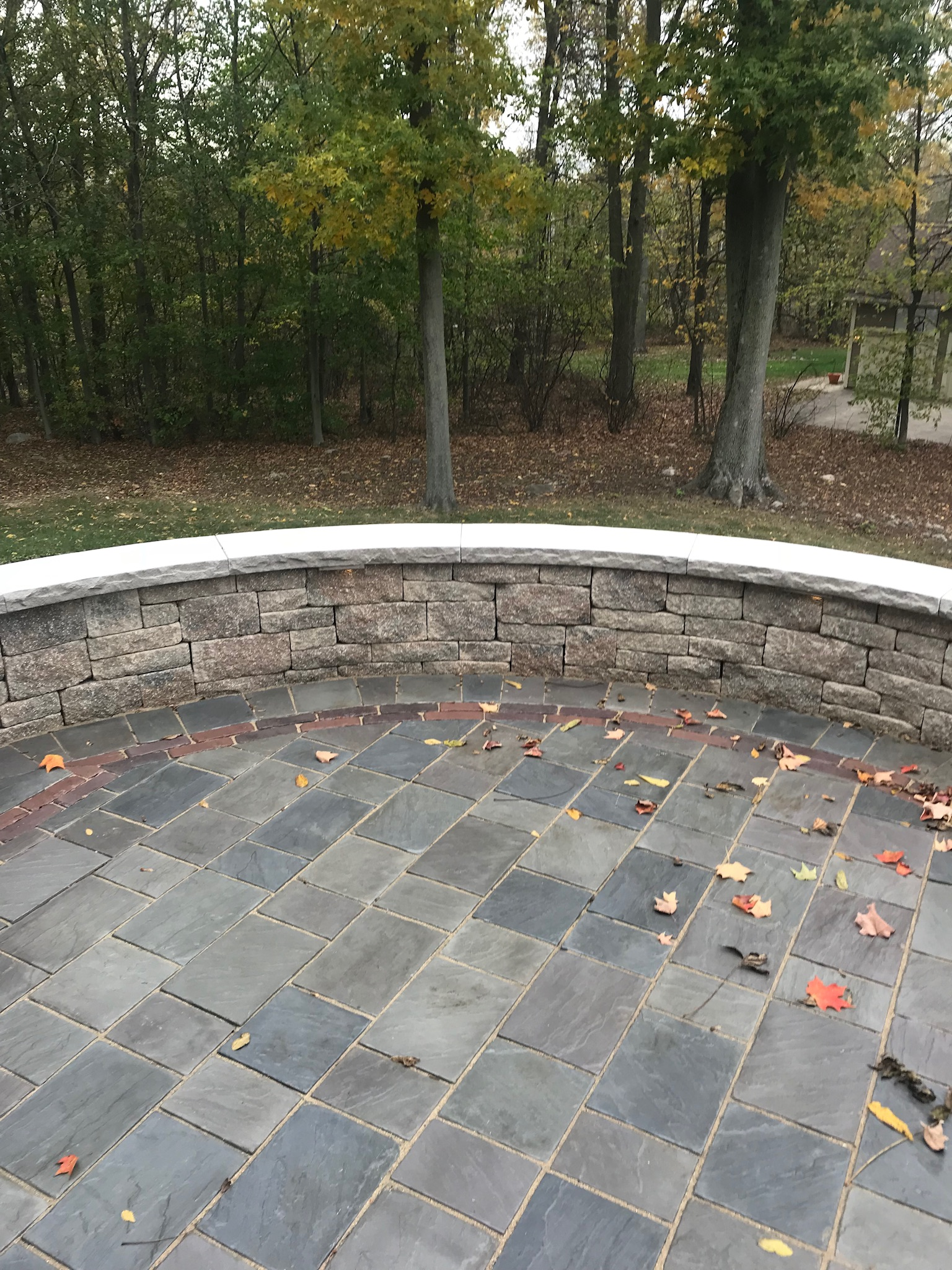 Natural Stone or Concrete Retaining Wall for Your Novelty, OH, Landscape?