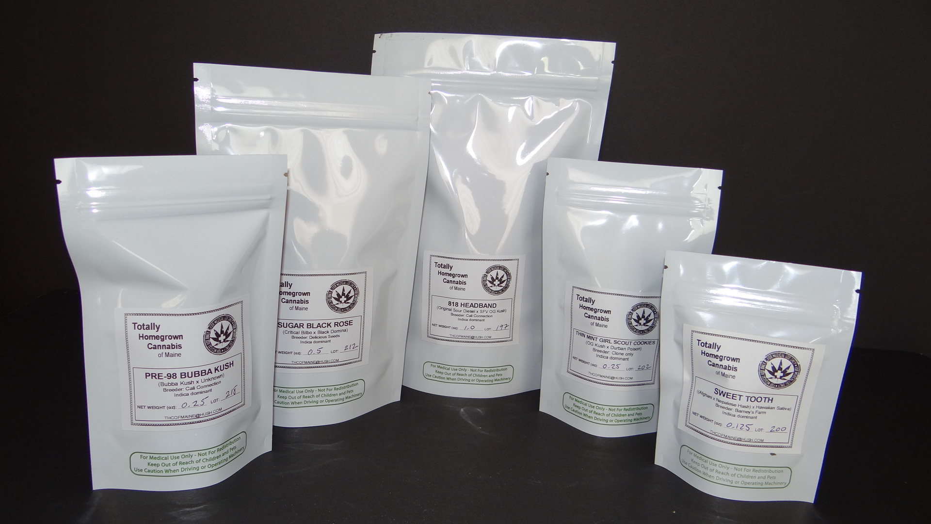- Nearly all of the plant products we offer are carefully packaged in quality resealable bags, and labeled with strain name, specific genetic background, sativa / indica ratio, accurate weight and lot number