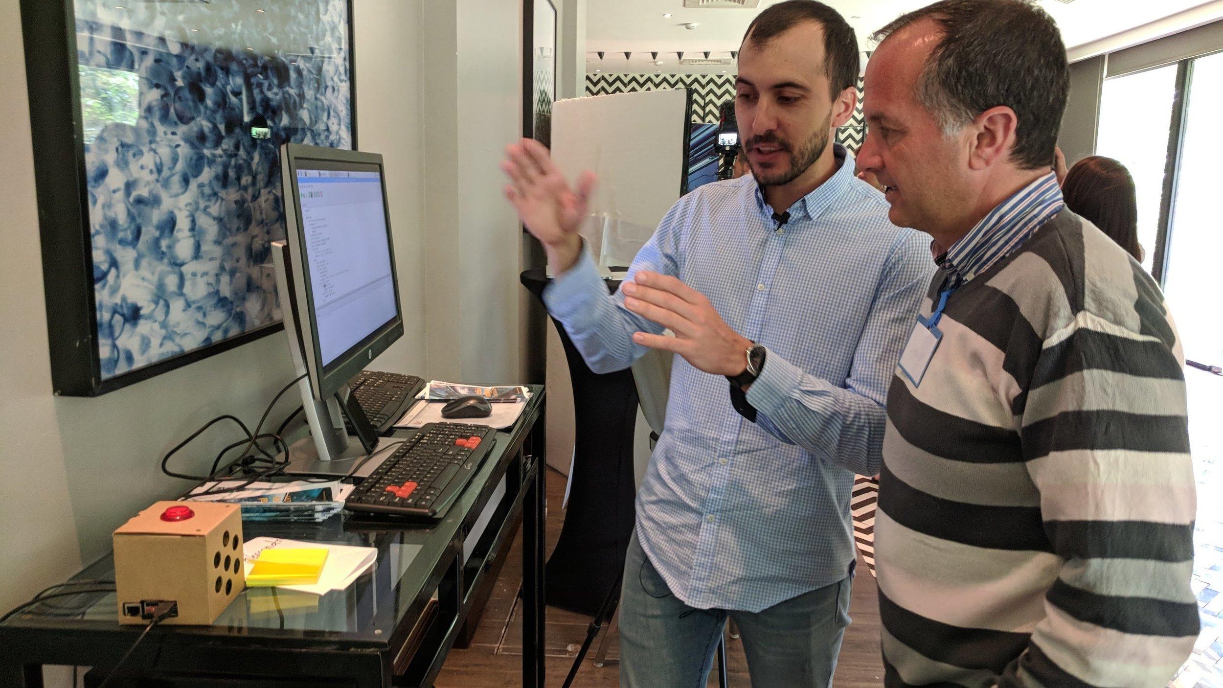 Explaining the customized merchant assistant