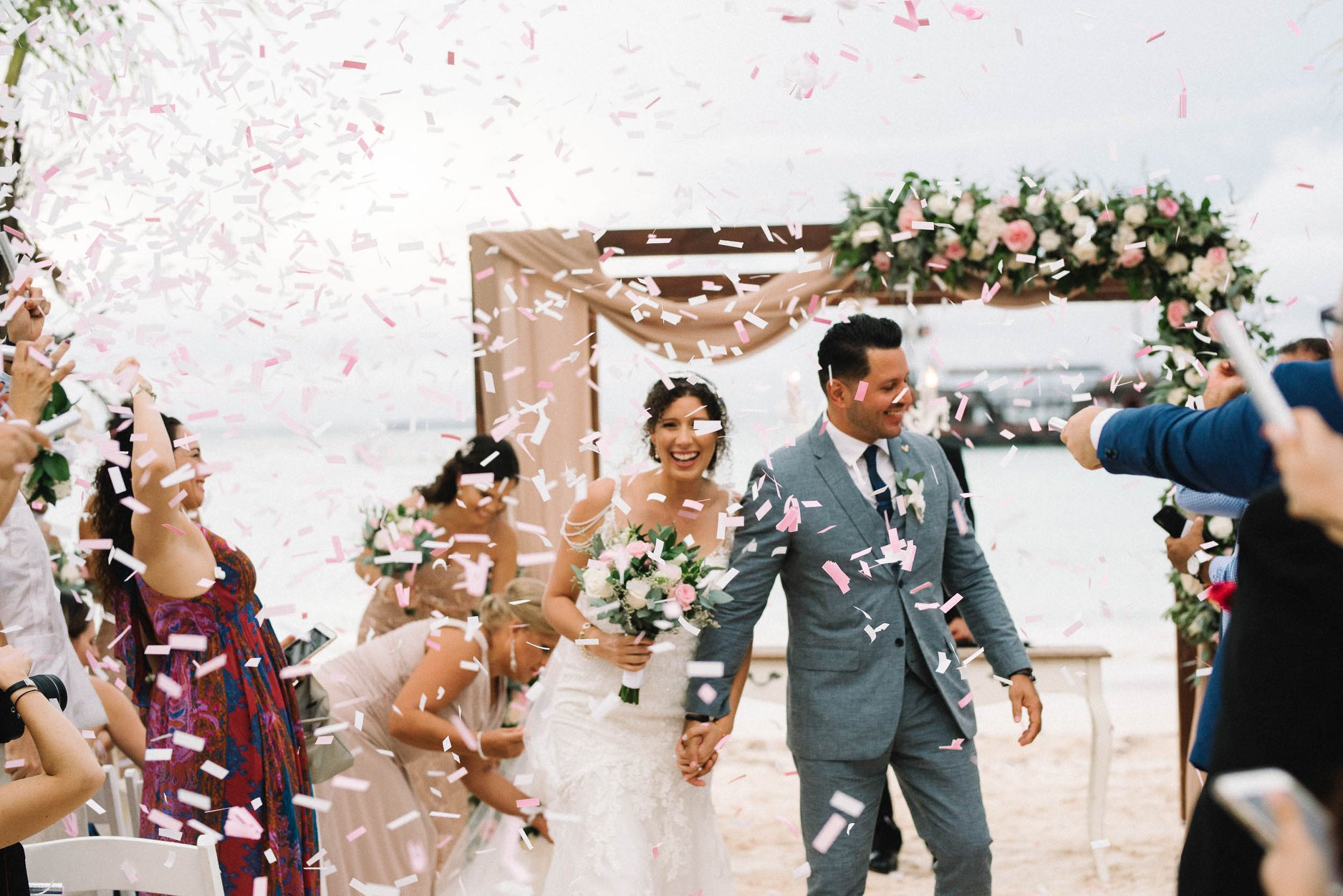 Confetti for Weddings - So versatile, yet so festive, confetti is a great addition to recessionals, grand entrances, dance floor moments, and grand exits. .