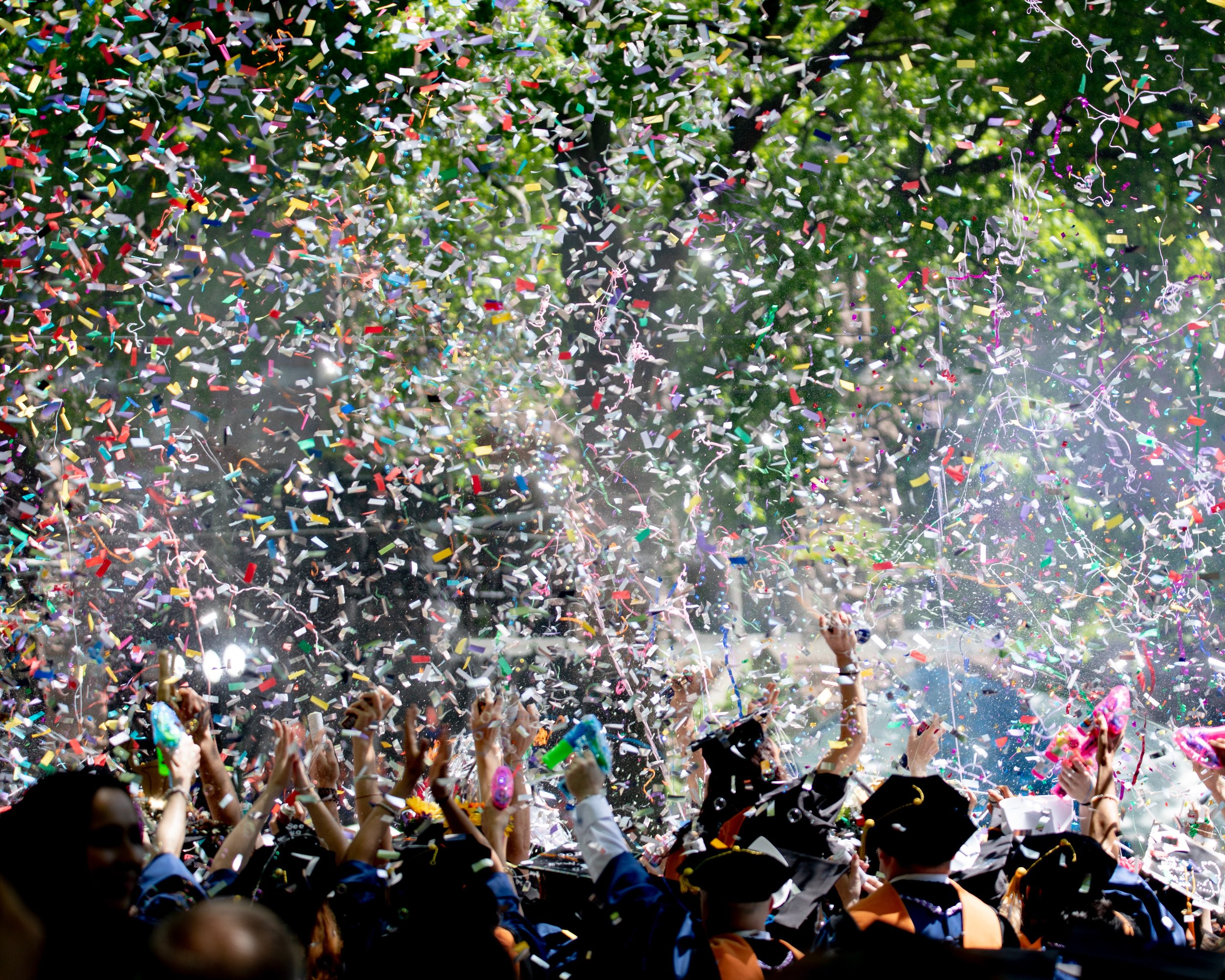 School Events - Nothing says you graduated, won a championship or an award like celebrating in a sea of confetti!