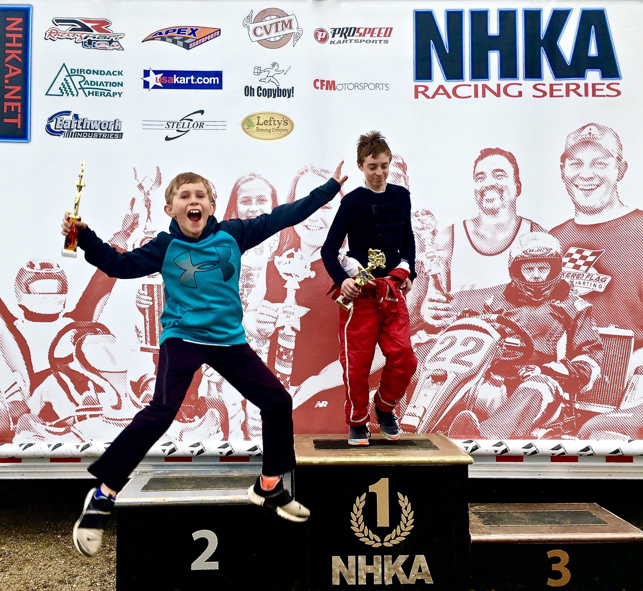 NHKA Racing Series - My work for the NHKA Racing Series shows the full breadth of my skill set and how I use it to get living, breathing, jumping for joy results.Learn more ➝