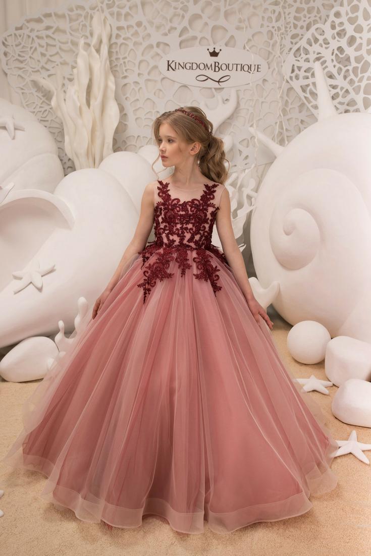 Flower Girld Dress - $173